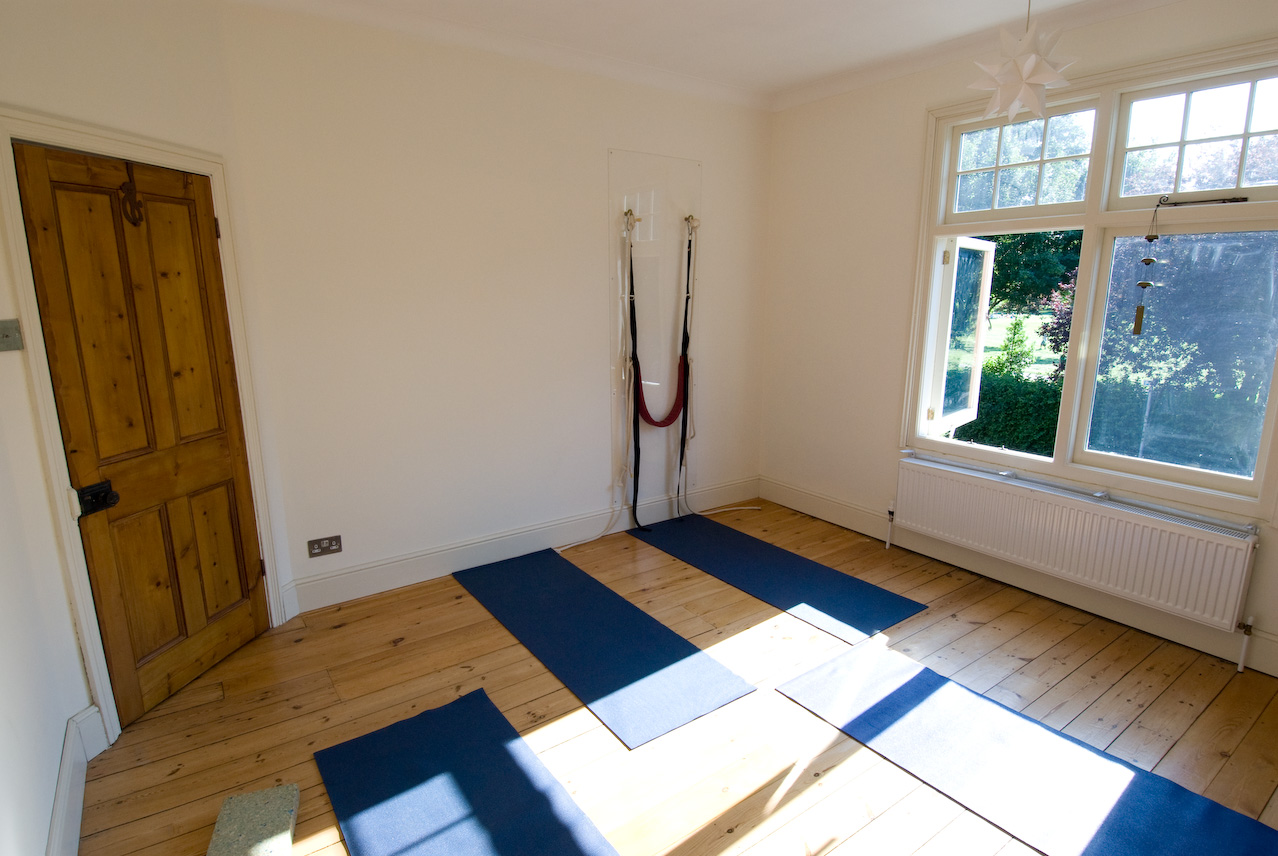 Photos of Yoga Asanas & Our Studio | Iyengar Yoga Studio West Bridgford